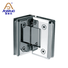 Manufacturer supply modern metal glass door shower hinge