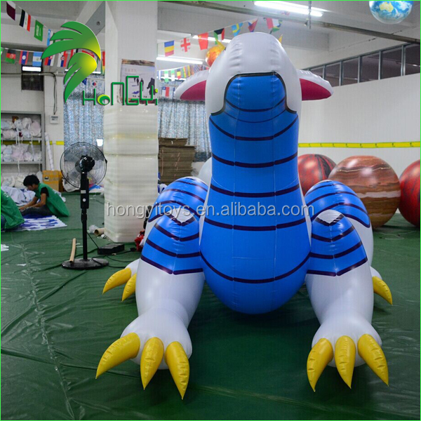 Hot Sale Giant Inflatable Dragon , Inflatable Cartoon Characters Sea Dragon Animals With Factory Price For Sitting