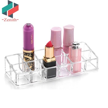 Znh00006 12 Slots Crystal Acrylic Cosmetic Makeup Organizer Lipstick Display Holder Buy Lipstick Display Holder Acrylic Cosmetic Display Lipstick Stand Holder Acrylic Lipstick Holder Product On Alibaba Com