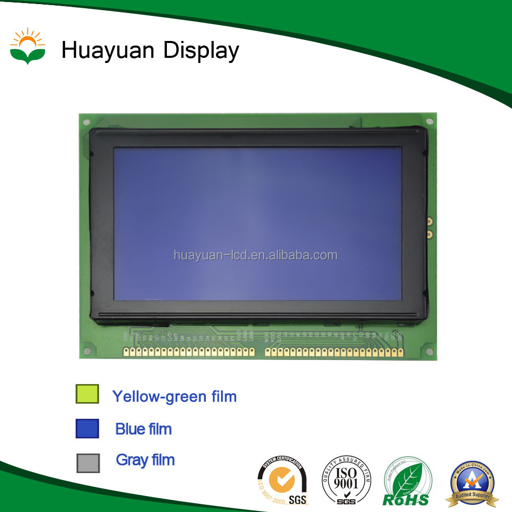240x128 motormeter tn black-and-white lcd display