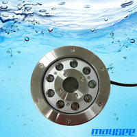 IP68 submersible LED fountain ring light