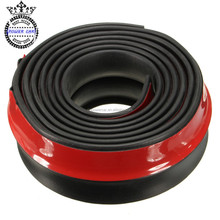 High Quality Front Bumper Skirt Rubber Muti deflector Seal Strip For Lip Spoiler Protectvice Body Parts