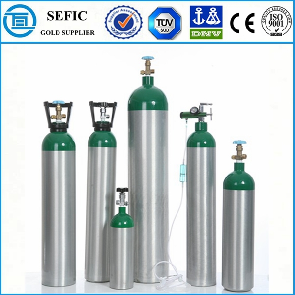 En Iso7866 Portable Aluminum Cylinder Small Compressed Air