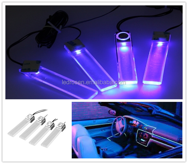 color car interior decorative floor dash light car cigarette lighter buy led interior car. Black Bedroom Furniture Sets. Home Design Ideas