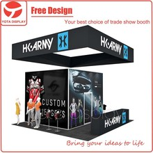 Yota offer HK Army, 20ft fabric trade show exhibition display stands