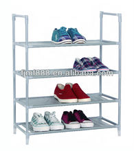 Home Storage Collapsible Wall Mounted Metal Shoe Rack