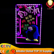 Factory direct wholesale LED display panel shops adverting & promotion indoor drawing with marker pen led writing board