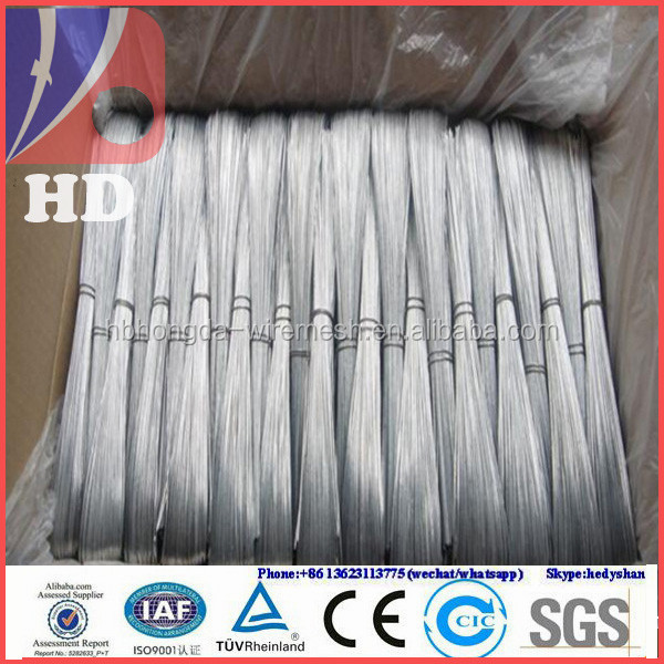 Electro Galvanized Thin Black Iron Wire / Pvc Coated Wires ...