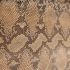 Snake Leather For Bags Shoes Decoration Animal Print Genuine Leather