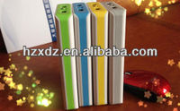 mobile power bank 20000mah Large wallet have LED,mobile power supply,six cycles