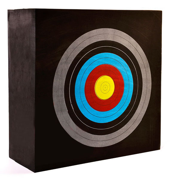 EVA foam target and printed target paper for shooting sports