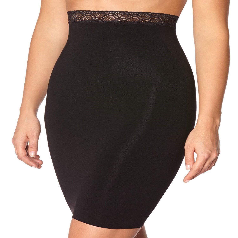8d534c388 Body Wrap Plus Size High Waist Seamless Half Slip Firm Control Shapewear  Women