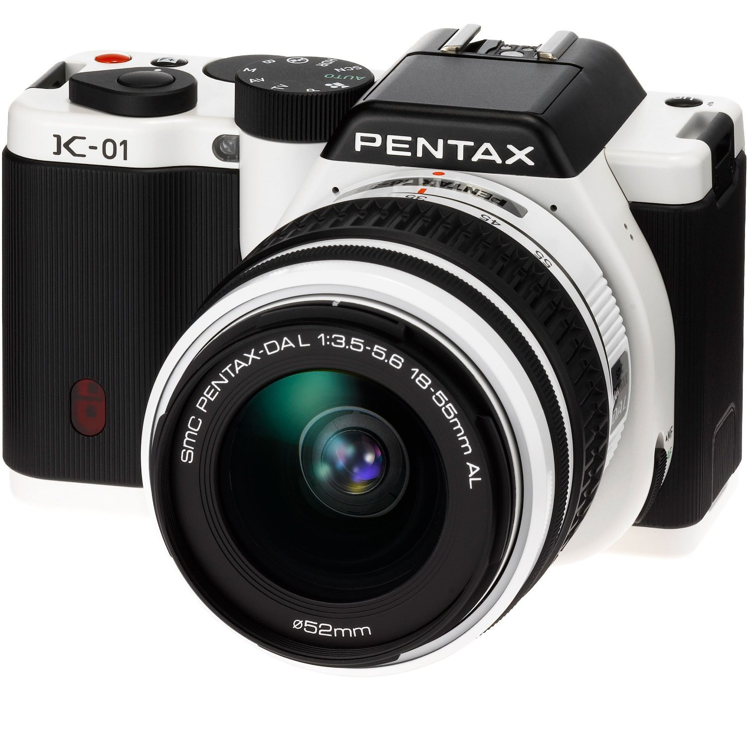 PENTAX digital SLR camera K-01 body white / black K-01BODY WH / BK