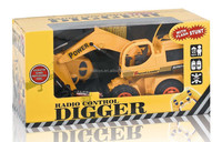 New design!5 channel remote control stunt digger include battery Excavator school professional moder power car for kids