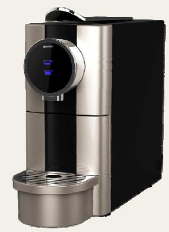 unique design 20 bar nespresso capsule coffee machine. Black Bedroom Furniture Sets. Home Design Ideas