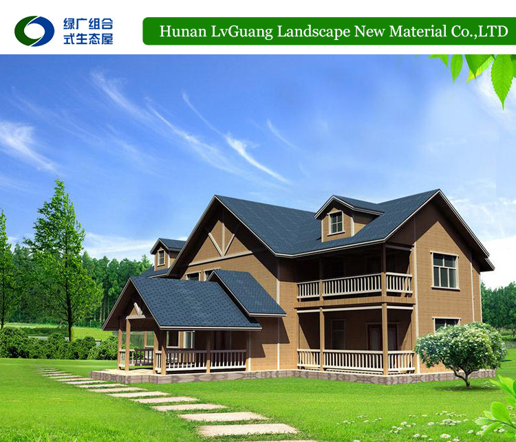 Prefabricated wood house/timber villa/log homes