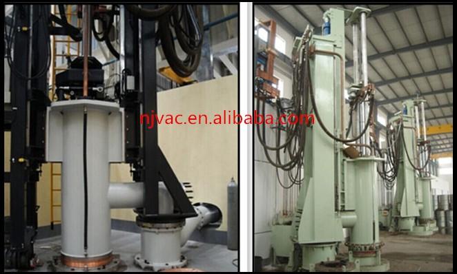 Simple Operation PLC Control Vacuum Consumable Electrode Arc-melting Furnace
