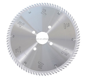 High speed high precise computer Panel sizing Saw blade Used On HOMAG