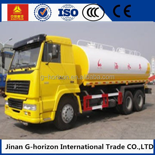 Howo truck fuel tank size20m3 capacity water tank truck for sale in kenya