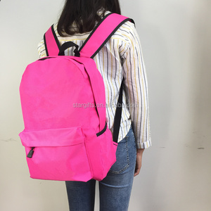 2018 New Design Cheap 600D Polyester School Backpacks For Child