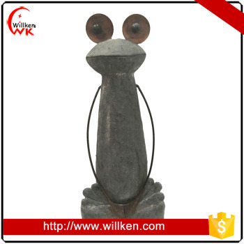 2017 hot sale garden decoration frog figurine interesting products