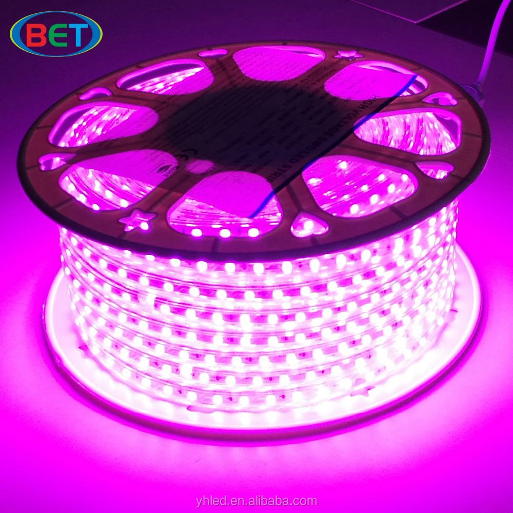BET led strip 5050 high voltage bet led folding light furniture decoration manufacturing machine led strip lighting ww 2400K