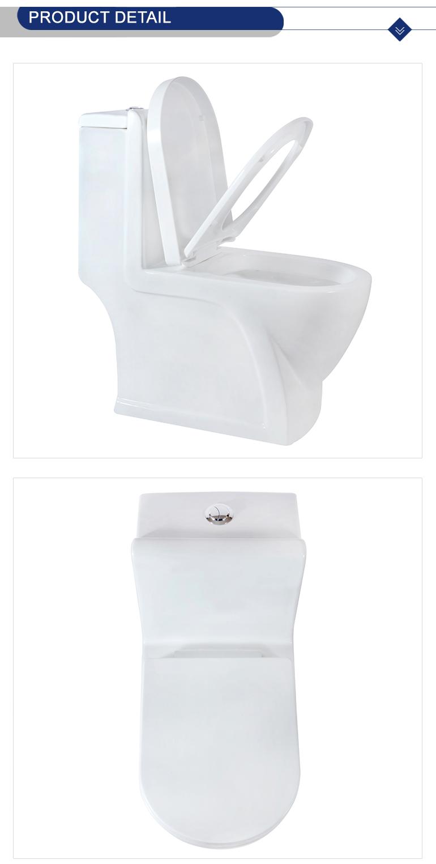 New arrival white color washdown Foshan toilet 8226