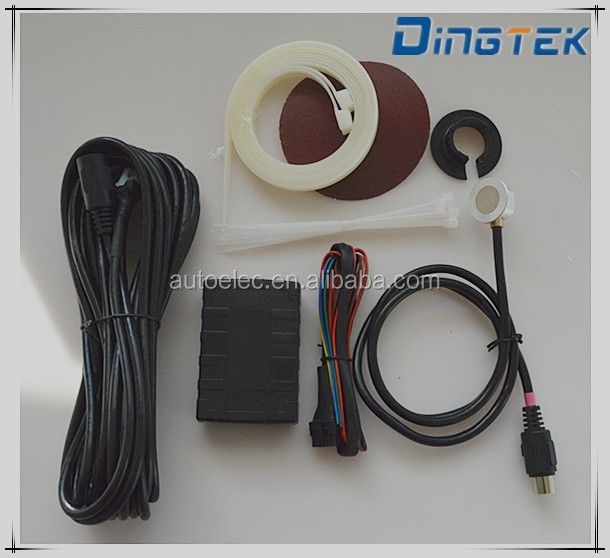 F500 resistive fuel level sensor gprs ultrasonic level sensor rs232 rs485 0-5v output no drilling applied for vehicle