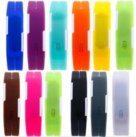 Wholesale Cheap Touch Screen Fashion Digital Led Watches Silicone Wristband Men Luxury Brand Sports Electronic Wrist Watch