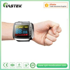 laser wrist watch for curing high blood pressure, high blood sugar, high blood fat with OEM offer