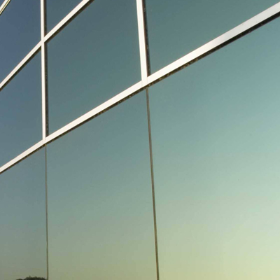 materiales de construccin utilizados en la construccin de paredes de vidrio exterior