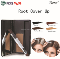 Natural organic hair makeup powder for hair root dye