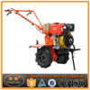 10HP Diesel Power Rotary Tiller With Trailer For Land Cultivation