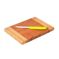 Factory price high quality durable wood end grain cutting board chopping block bamboo