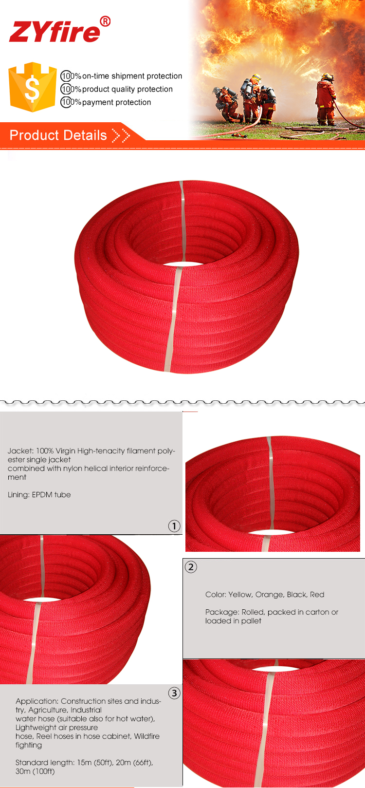 Hot Sale Durable Swivel Joint For Pipe Fore Fire Fighting Hose Reel