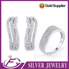 Competitive price trends style 925 sterling silver fashion europe jewelry