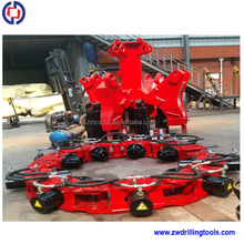 Hydraulic rock pile breaker Pile cutter