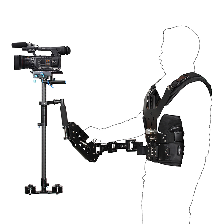 YELANGU B200-C2 Steadicam Vest and Arm for DSLR Cameras