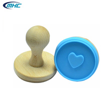 2016 the best selling silicone stamp for cookie printed and baking