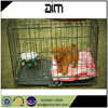 Hot sale economically dog cage with black color PVC coated