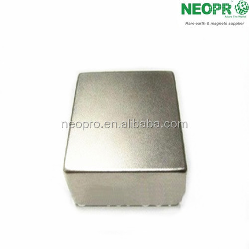ndfeb magnet with plating of Ni