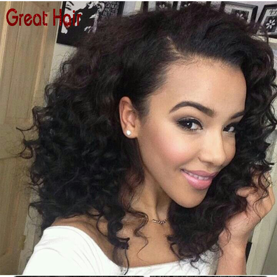 Natural Afro kinky curly afro wig 130 Density human hair short wigs for black women aliexpress