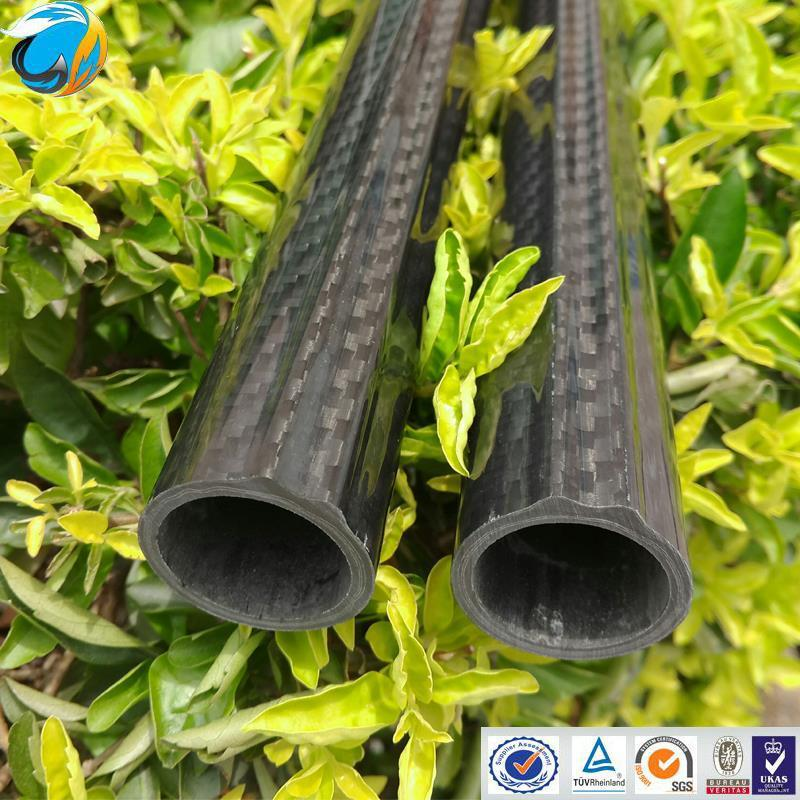 Carbon fiber underwater gun tube and carbon fiber spearfishing gun tube