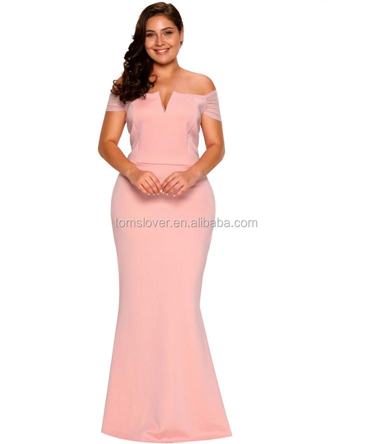 Großhandel abendkleider rosa lang Kaufen Sie die besten abendkleider ...