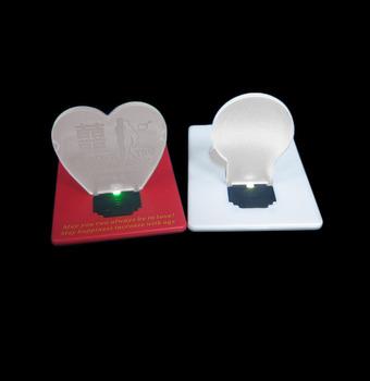 Promotion gift custom mini heart shaped business card led light promotion gift custom mini heart shaped business card led light colourmoves