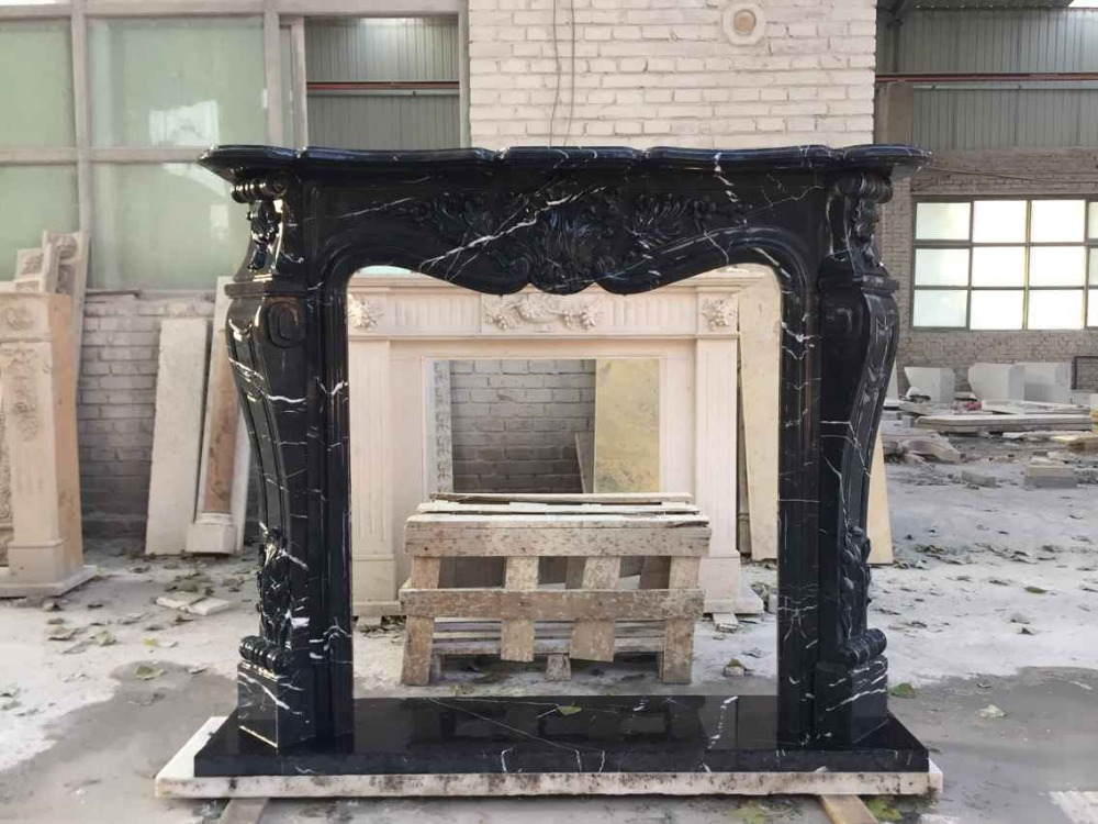 Nero Marquina Marble Fireplace Prices Surround Buy Marble Fireplaces Prices Artificial Marble