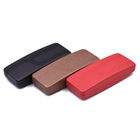 Hot Sale Exquisite Hard Eyeglasses Case Covered With Leather