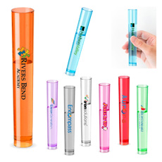 Giveaway great quality cheap price 2 oz unbreakable body food safe pp plastic transparent colorful round bottom test tube goblet