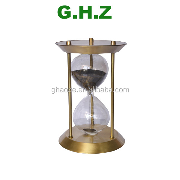 1 Minutes 3 Minutes 5 Minutes 3 In 1 Metal Sand Timer Hourglasses Tea Timer Factory