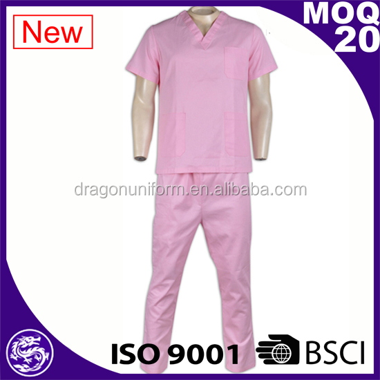 Made In China Wholesale Uniforms Medical Scrub Uniform Set
